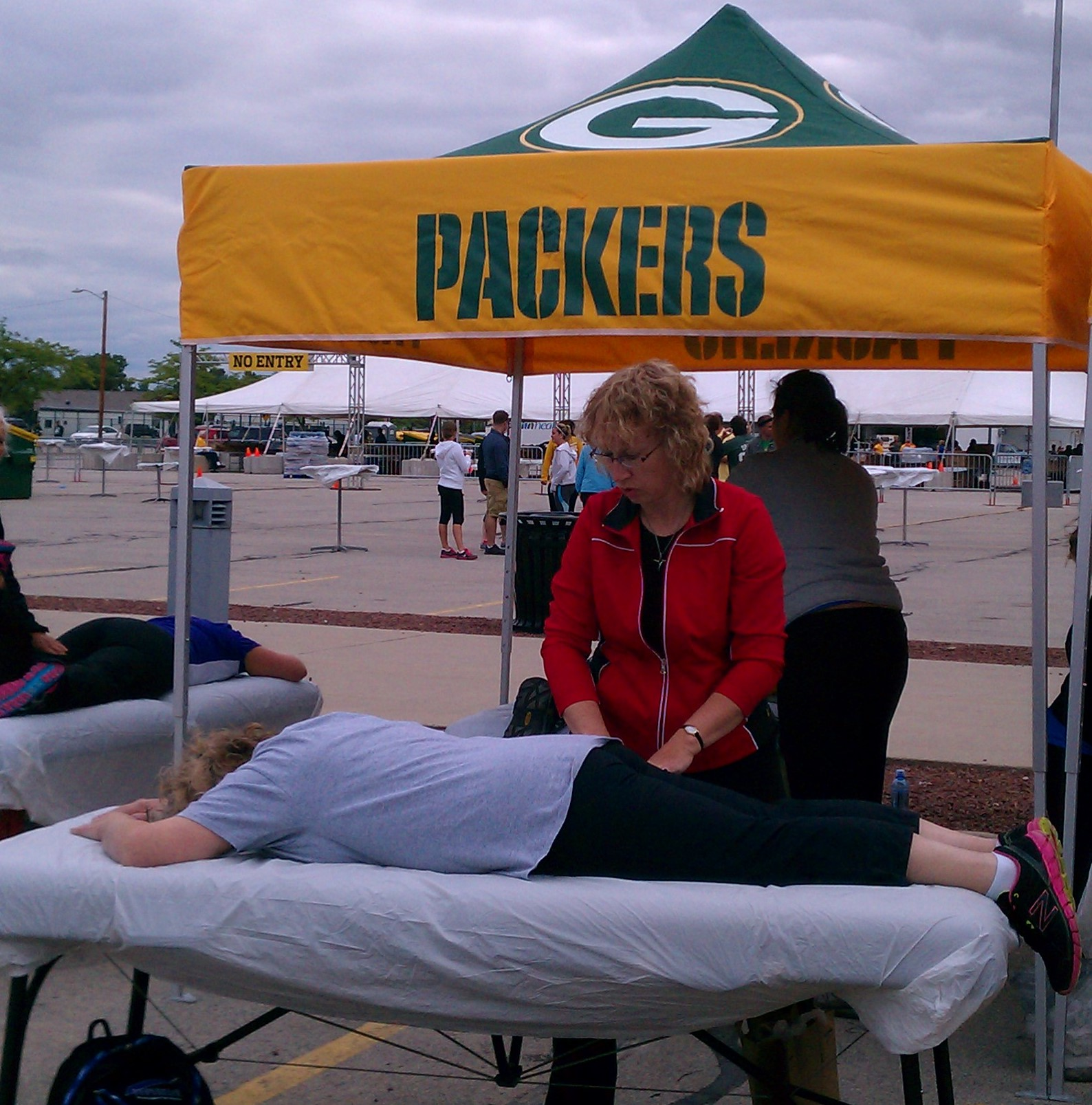 massage at an event